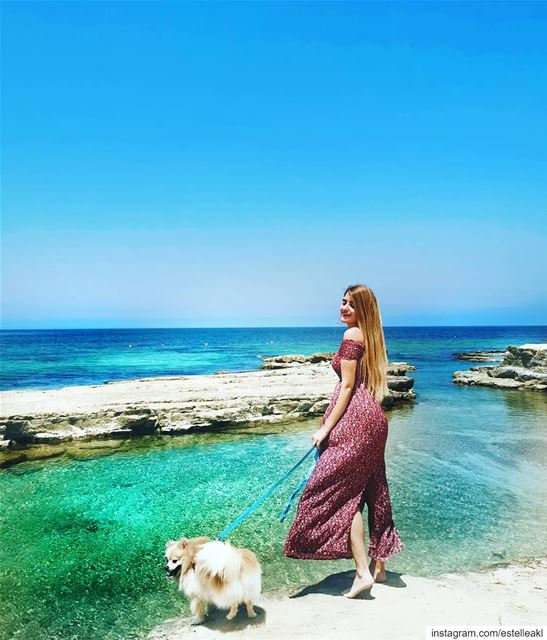 You will never see us that excited unless you mention food or beach 🏖️🐶 (Lebanon)