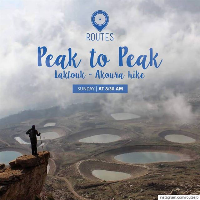 We keep on shaking the hiking concept with the ''Peak to Peak'' experience... (Akoura Laklouk)