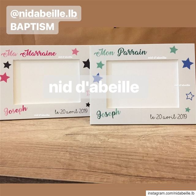 Making memories 🌿Baptism souvenir by nid d'abeille special moment ...