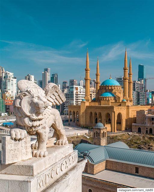 Core of civilizations 🏙️... Beirut Lebanon dji djiglobal ... (Beirut, Lebanon)