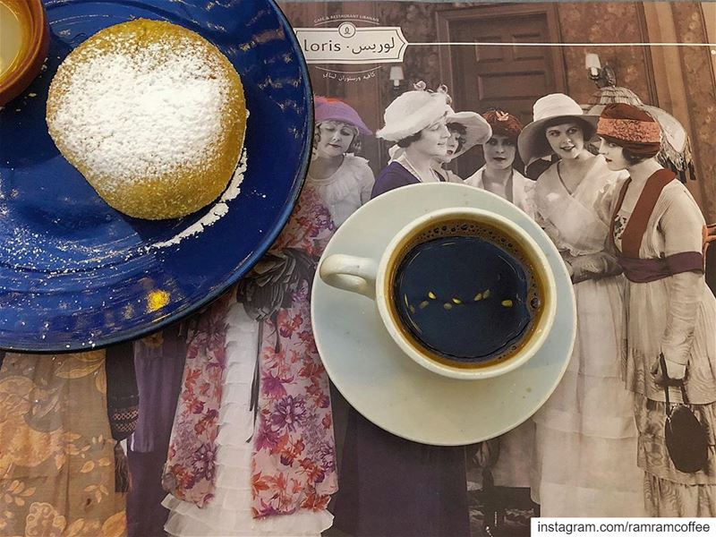 وكأنما يقبل خلايا المزاج خلية خلية... ramramcoffee turkishcoffee ...
