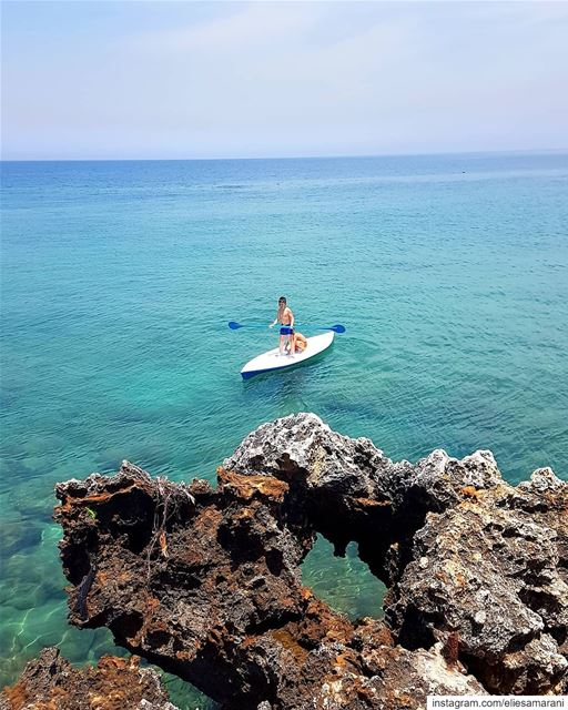 You can't cross the sea merely by standing and staring at the water.🚣‍♂️... (Anfeh, Lebanon)