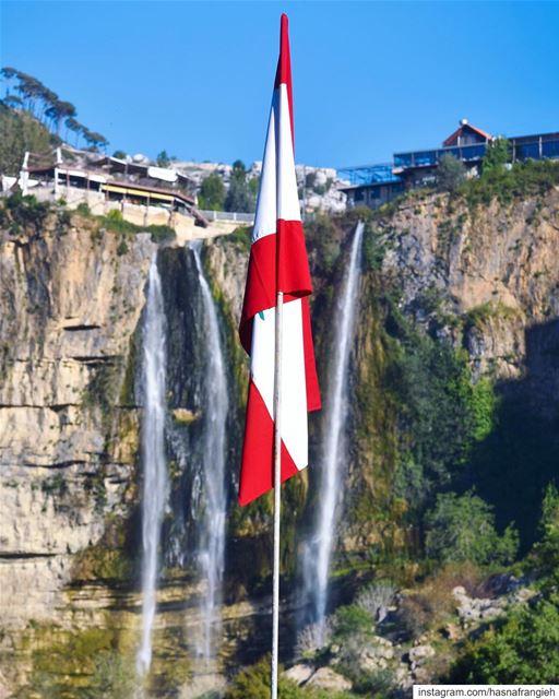 حبّة من ترابك بكنوز الدني... بحبّك يا لبنان، يا وطني 🇱🇧🙏🏻💚🎼... (Jezzîne, Al Janub, Lebanon)