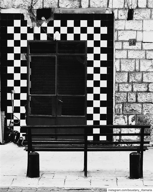 Sit and stare .....🔲🔳◾️▫️••••••••••••••••••• bnw ... (جونية - Jounieh)