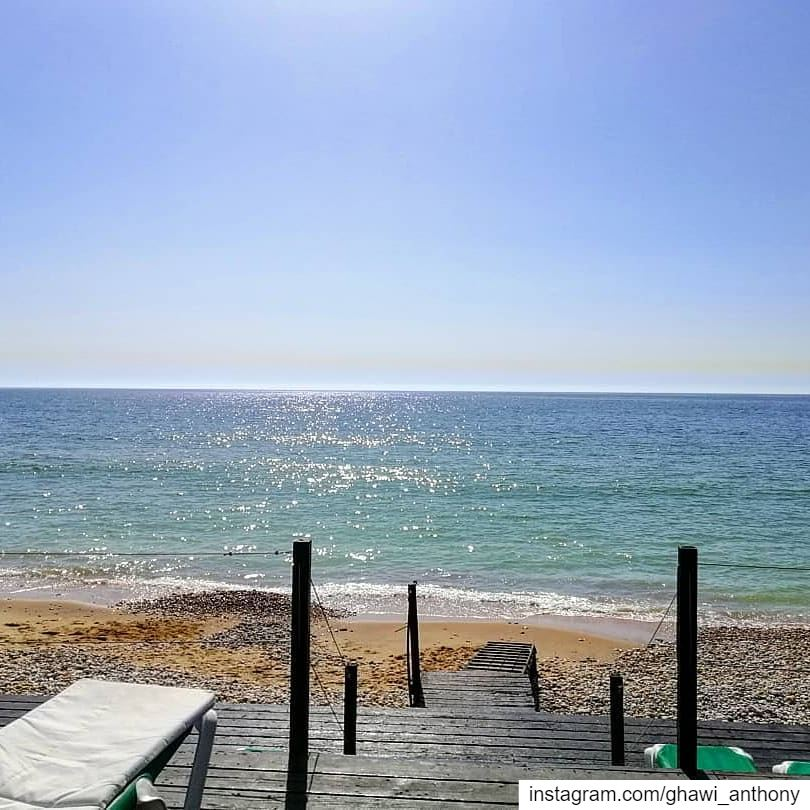 Sea way 🌞🌊Morning 😎_________________________________________ morning... (Damour, Lebanon)