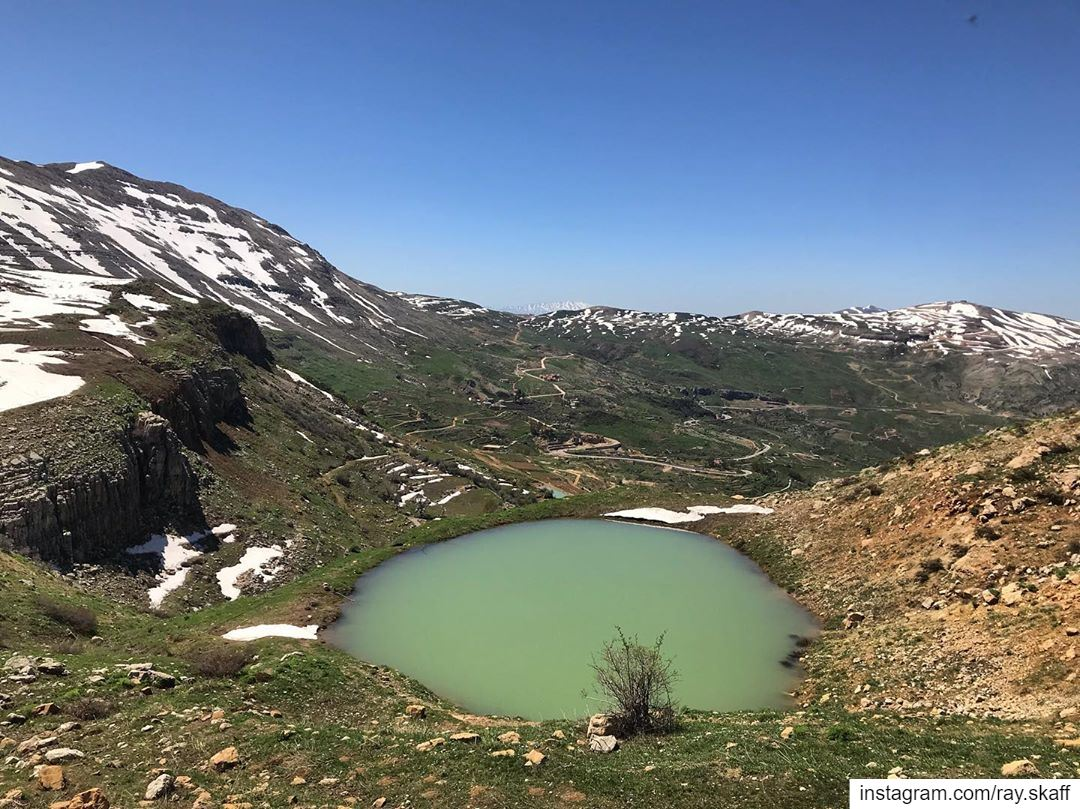 My kind of landscape‼️............... lebanon nature ... (Vacation Hike)
