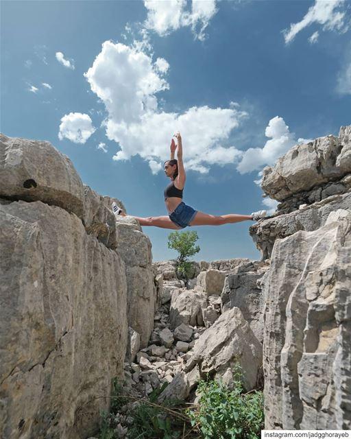 ~ Joo ~... split ballet balletpost ballerina instaballet ... (Faqra Kfardebian Lebanon)