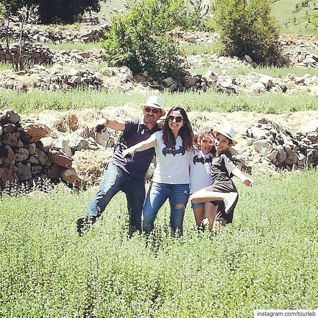 Our journey started in amazing nature with good vibes good thymes and... (Kfarhouna - Jezzine)