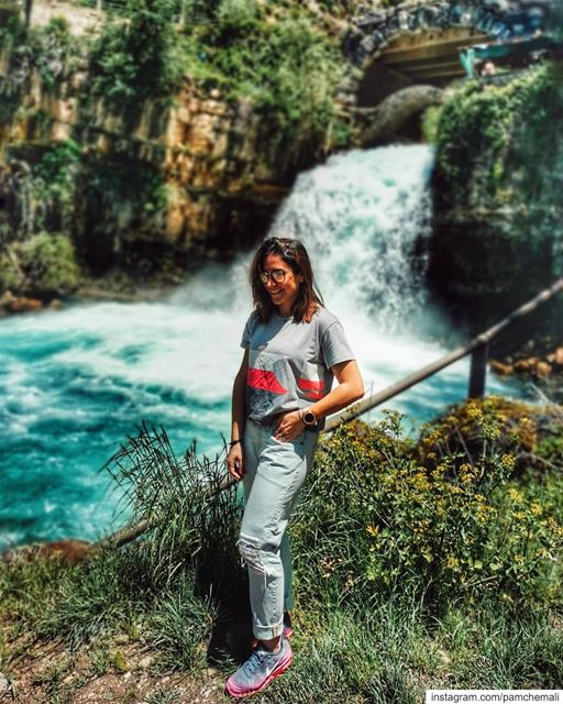 Today i visited  afqawaterfalls 💧Again,  lebanon never fails to surprise... (Afqa)
