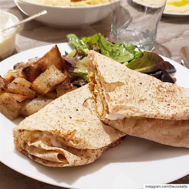 Tasty Taouk sandwiches 🌸 *Recipe in the highlights thecookette ... (Montreal, Quebec)