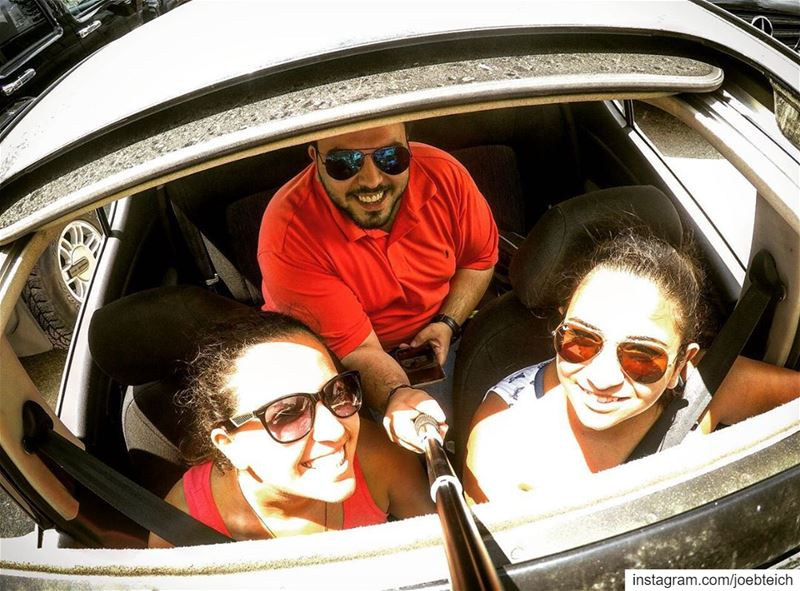 Old but gold⏳ dayout friends relatives family vacation car selfie gopro...