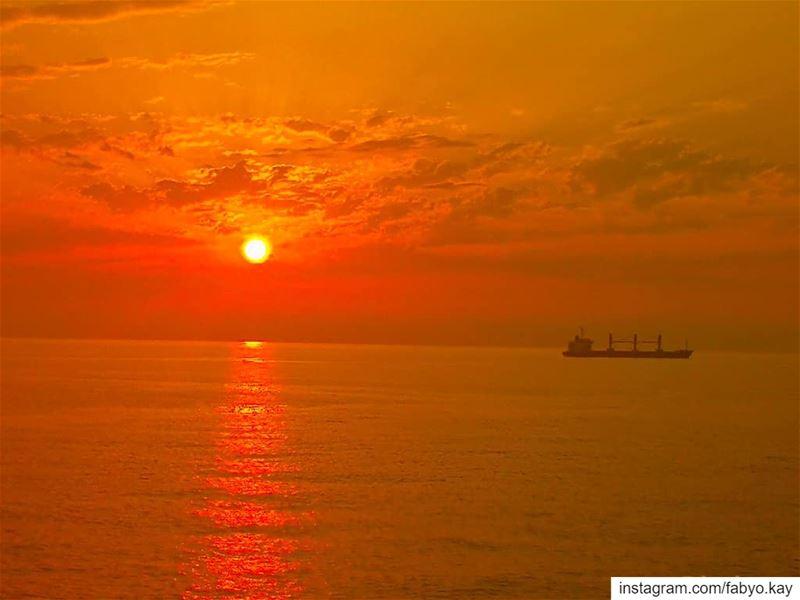 sunset sunset_madness sunset_vision libano_brasil lebanon beirut... (Joünié)