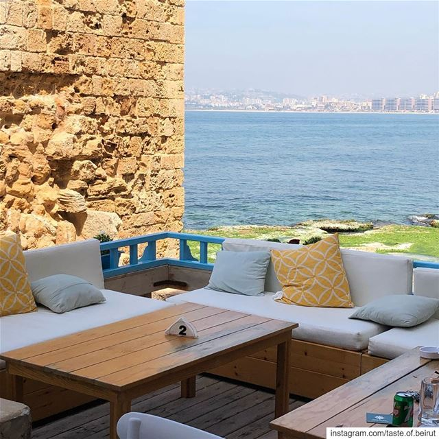Lebanon offers beach seating, Roman, Phoenician  or Ottoman ruins galore,... (Tyre, Lebanon)