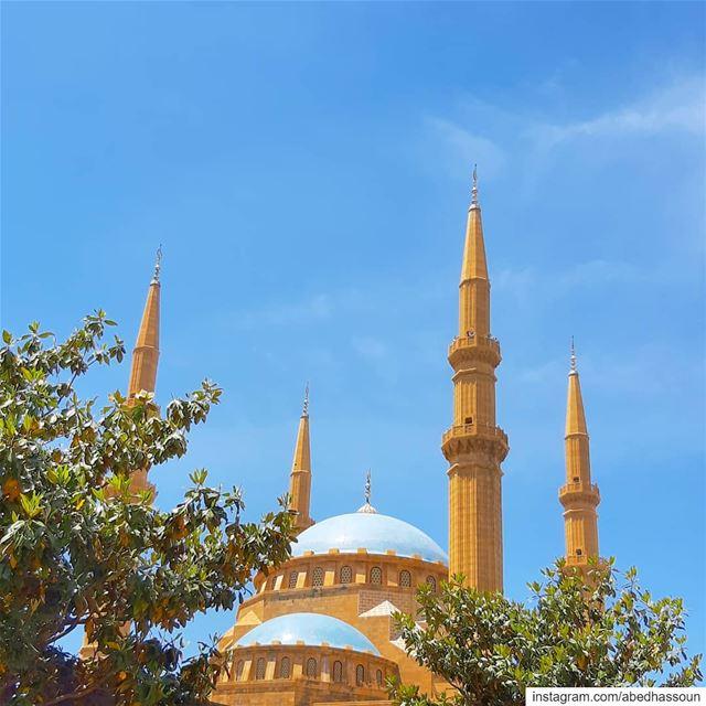 Mohammad Al Amin mosque, Beirut............... Beirut ... (Mohammad Al-Amin Mosque)