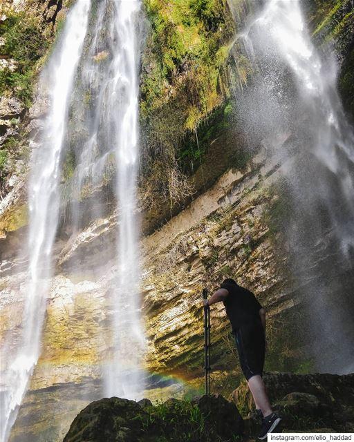 🇱🇧 Lebanon Jezzine LiveLoveJezzine LiveLoveLebanon waterfall Water... (Jezzîne, Al Janub, Lebanon)
