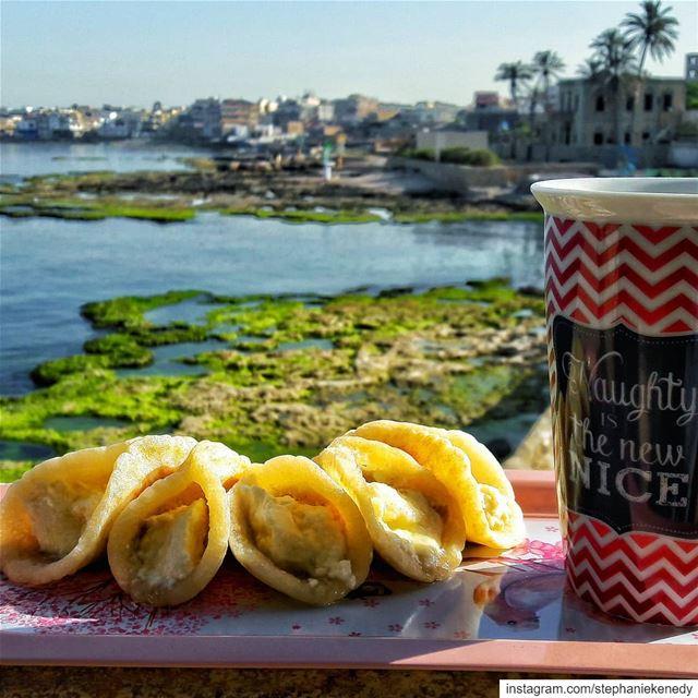 Atayef, the ultimate arabic pancake 😋...Good Morning ⚘ love ...