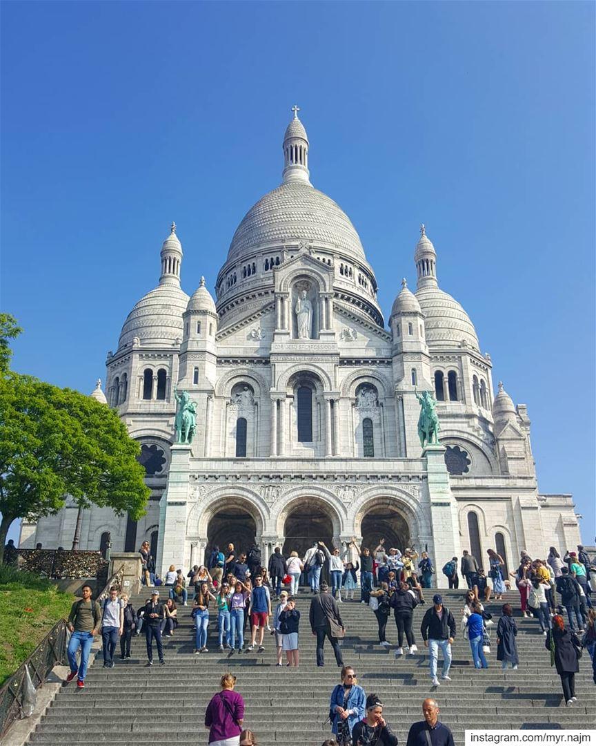 Basilique du Sacré-Coeur montmartre ......... france paris ... (Basilica du Sacre-Coeur de Montmartre)
