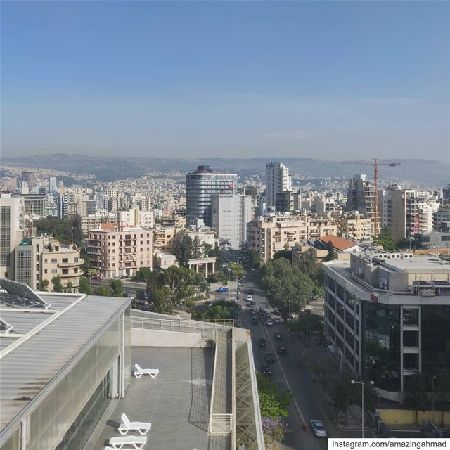 This concrete jungle really is a concrete and a... (Université Saint-Joseph de Beyrouth - USJ)