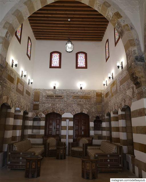 Arabesque architecture in saida___________________________________... (Sidon, Lebanon)
