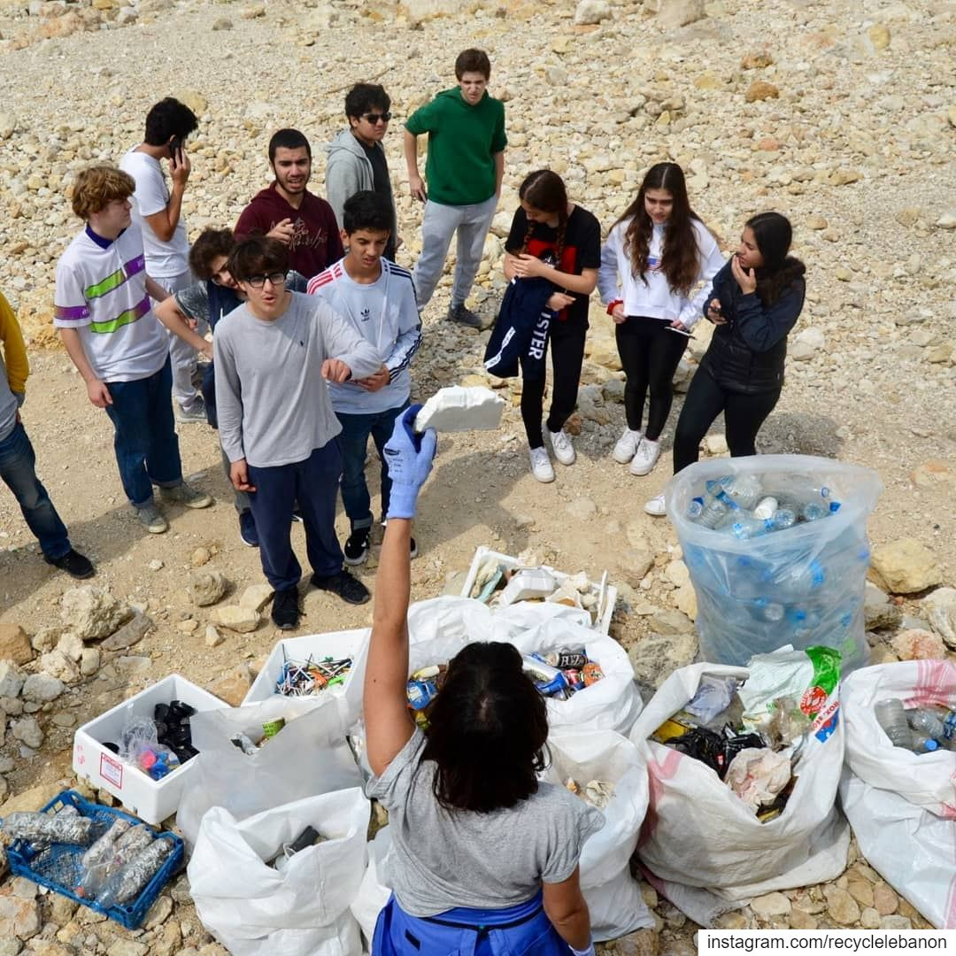 Setting the standards. We start by not creating waste to clean up waste,...