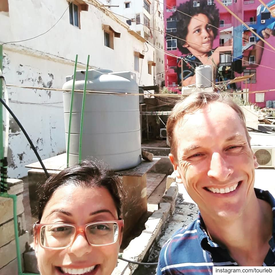 When street art hold hand with a social cause. When suburbs of Beirut are... (Ouze3i)