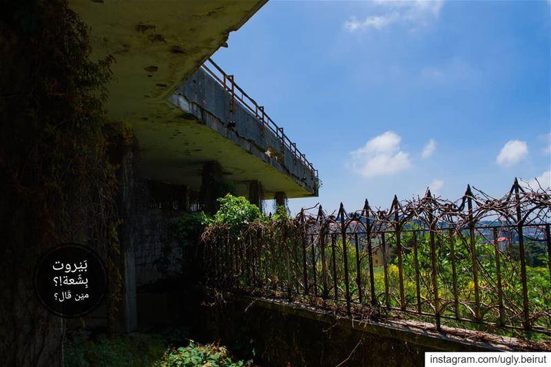 🇱🇧 Villa baidass we meet again . Abadiyeh - Lebanon... uglybeirut... (Abadiyeh, Mont-Liban, Lebanon)
