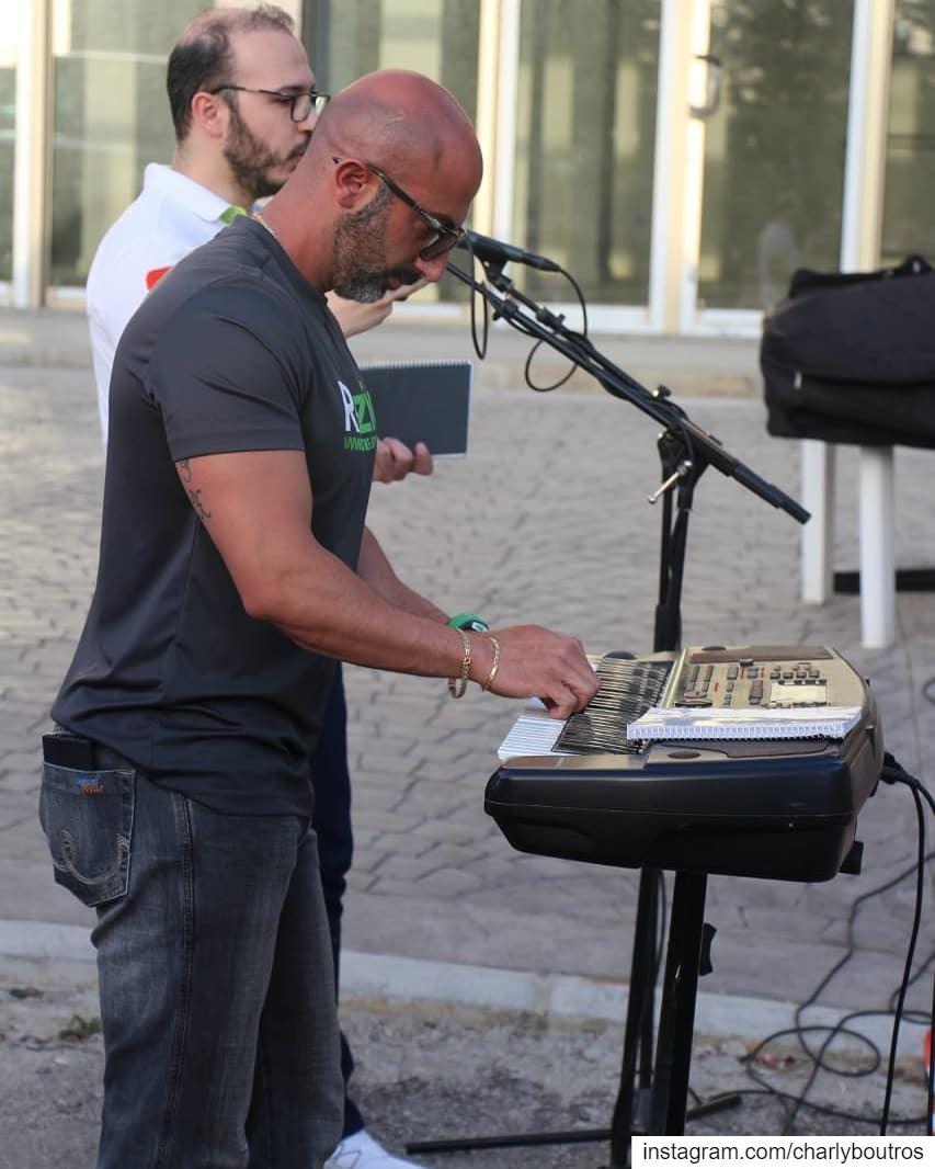 event performance lebanon gospelsinger CharlyBoutrosOfficial ... (Bsoûs, Mont-Liban, Lebanon)