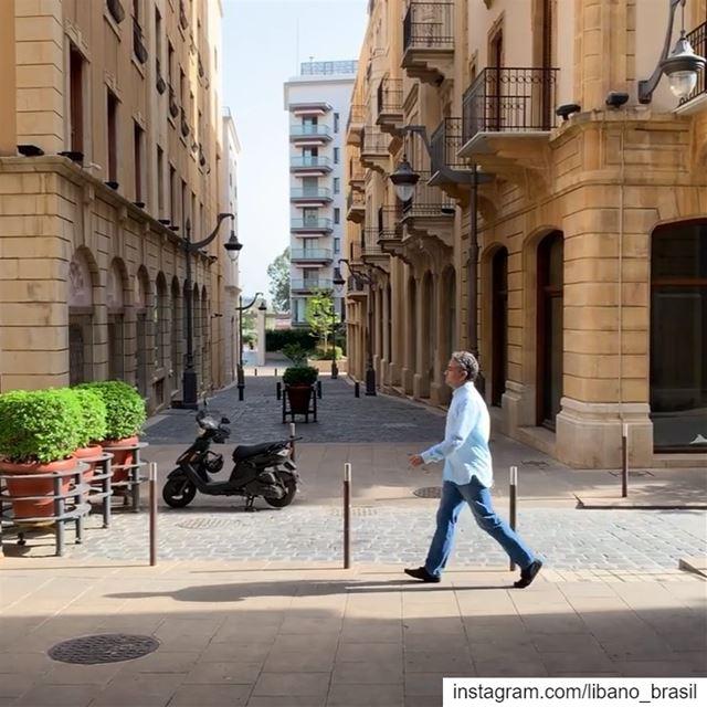 🇱🇧🇧🇷 Um passeio pelo maravilhoso centro de Beirute com Anthony Rahayel... (Downtown Beirut)