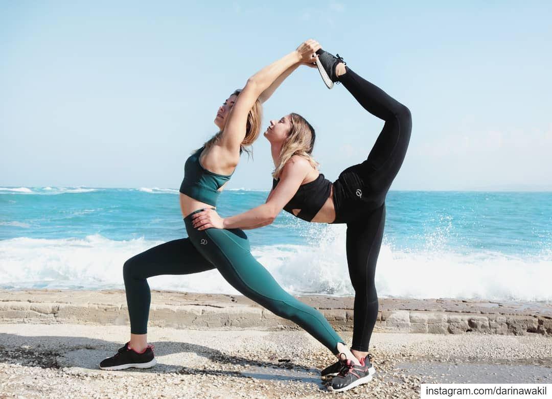 • Morning Stretch •... pleebo pleeboactive activewear photoshoot ...