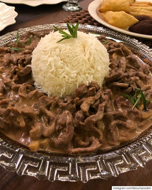 beef  strogonoff  delicious  yummy  yum  food  foodie  instafood  lebanon...