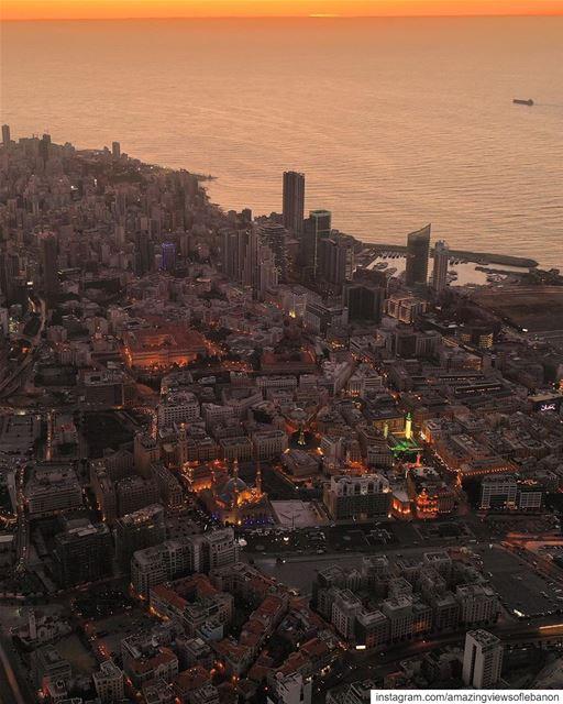 About last Beiruti sunset😍 beirut city livelovebeirut sky sunset capital... (Beirut, Lebanon)