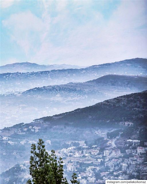 Be brave enough to live the life of your dreams according to your vision... (Baskinta, Lebanon)