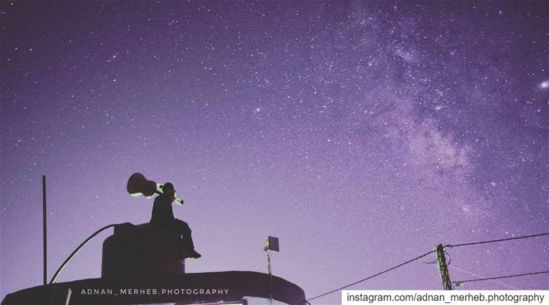 Galaxy mood 🌌 🎸 galaxy space art samsung universe stars love ... (Bardé, Liban-Nord, Lebanon)