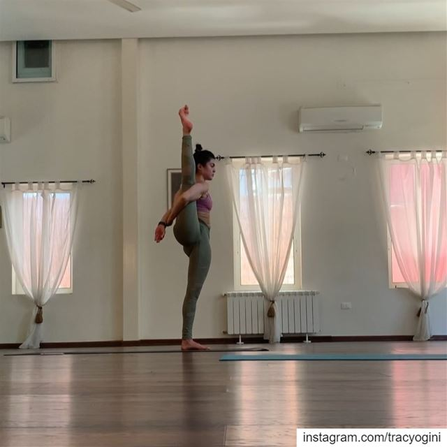 I love flowing next to this wonderful yogini @yogiinbeirut. Her strength,...