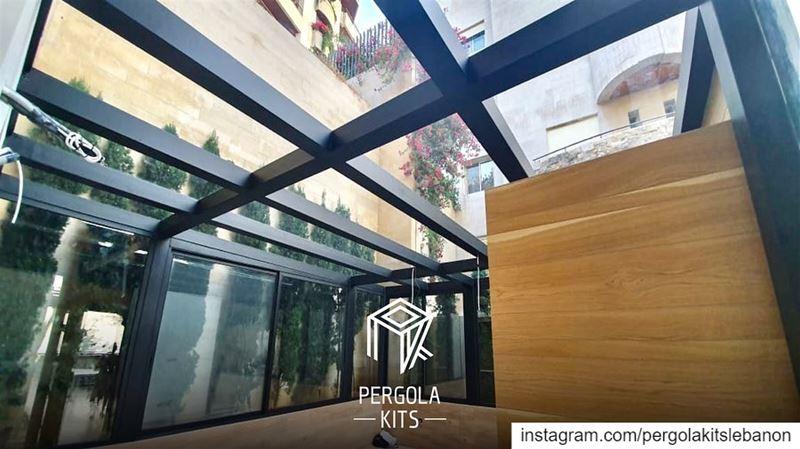 Steel Sunroom! PergolaKitsLebanon in El-Biyada, Qornet Chehwein📍... (Qornet Chahouane)