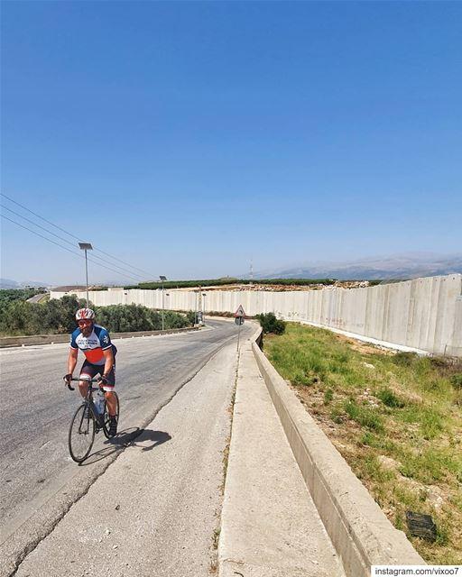 Behind the wall 🇱🇧Distance 231 Km 12h30 Moving time 🚲...... (بوابة فاطمة - الحدود اللبنانية - الفلسطينية)