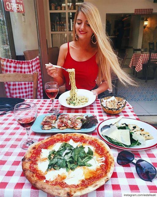 Less upsetti, more spaghetti 🌞🍝 (Bavaglino Beirut)