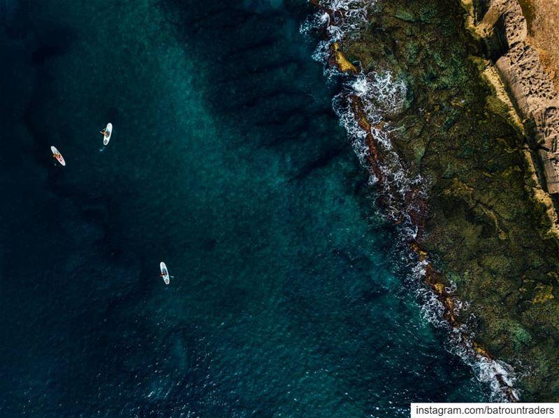 batroun البترون_سفرة phoenician wall batrounbeach batrouncoast sea ... (Batroûn)