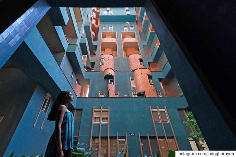 ~ Ricardo Bofill / Walden 7 ~... barcelona barcelonaarchitecture ... (Barcelona, Spain)
