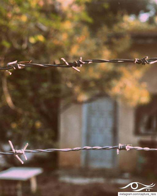 وهناك قلوب حظرت كل الحاضرين، وطردت كل الطارقين...ارادت العزلة عن عالم الان (Baqâata, Mont-Liban, Lebanon)