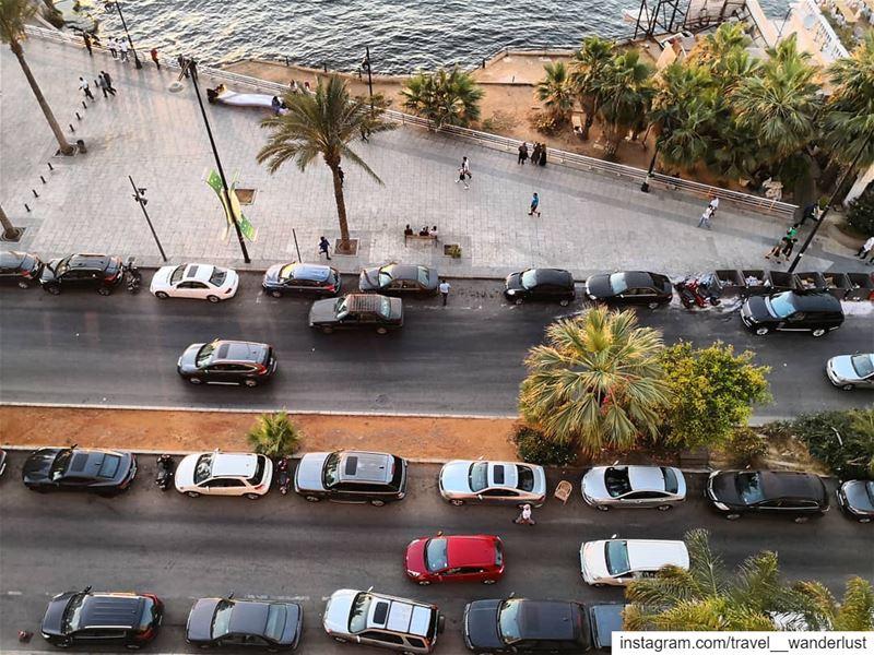 🎯--- TakeMeTo Lebanon Beirut AinelMreisseh manara Sea Beach ... (Beirut, Lebanon)