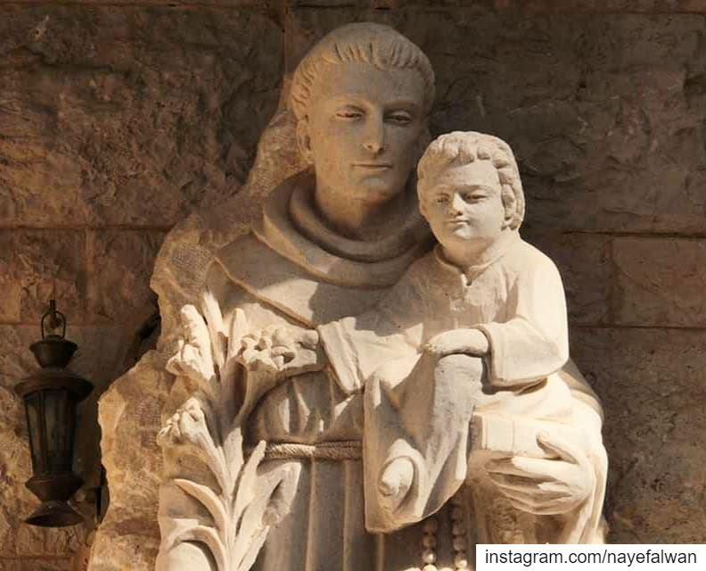 Saint Anthony of Padua nayef_alwan ___ sculptor artist art sculpture...