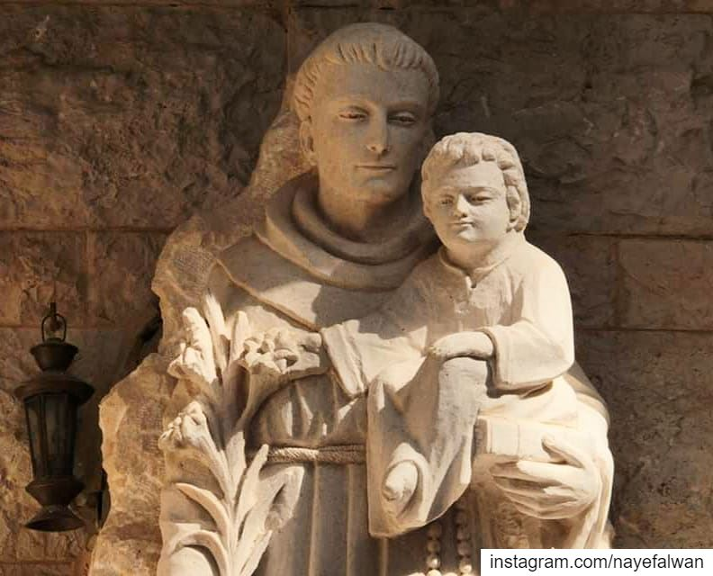Saint Anthony of Padua nayef_alwan ___ sculptor  artist  art  sculpture...