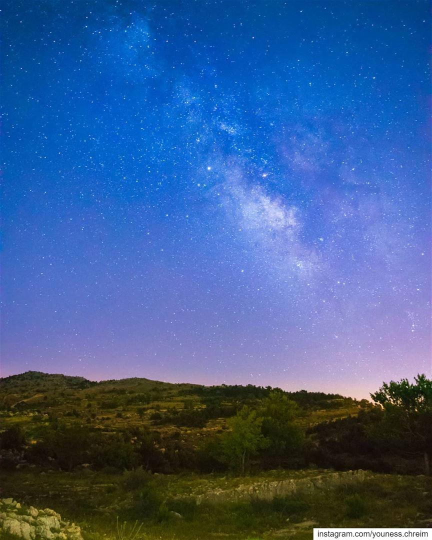 The Milky Way From South Lebanon milkyway milkywaychaser stars night ...