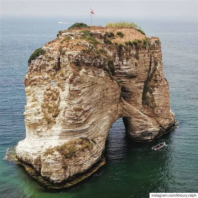 Rocks Remember ...  Mediterranean  sea  beirut  lebanon  rawche  ...