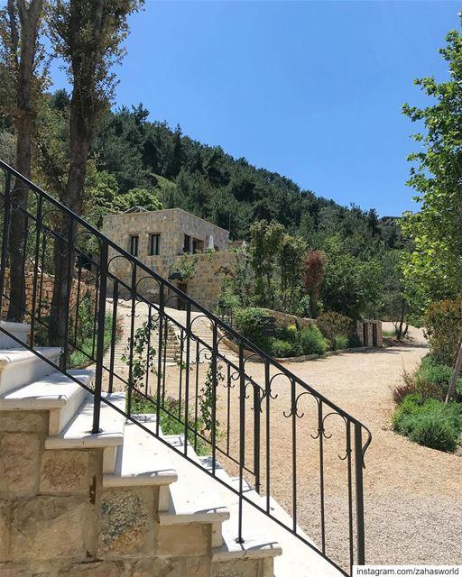 🍃🌿... lebanon green village beirut bkerzay chouf livelovechouf... (Bkerzay)