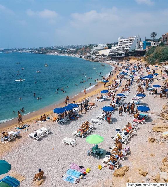 🇱🇧🇧🇷 Terça-feira com cara de fim de semana. Assim é o Líbano nesta époc (Byblos, Lebanon)