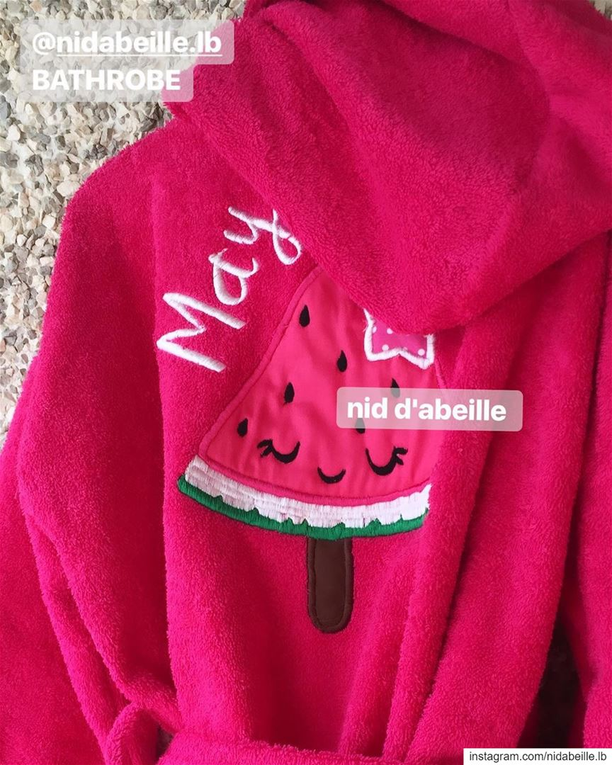 One in a 🍉 May ❤️Write it on fabric by nid d'abeille oneinamelon🍉 ...