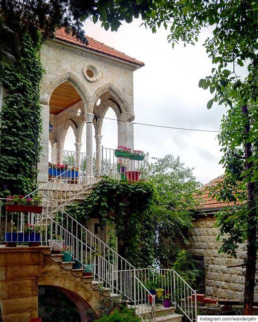 Stop and Stare! 💙 livelovedouma douma lebstory lebanontraveler ... (Douma, Liban-Nord, Lebanon)