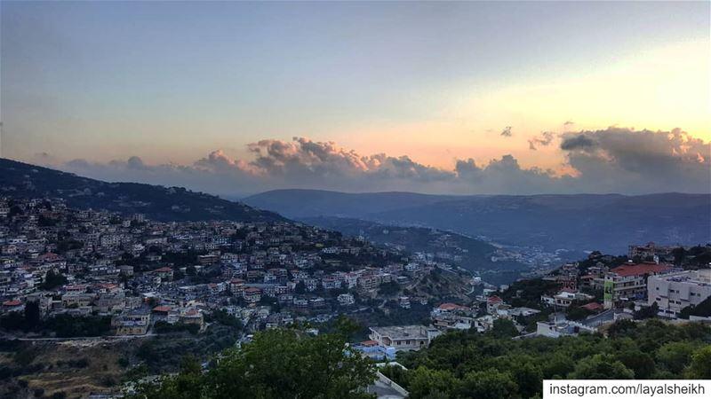 hasbayapictures hasbayasunset sunset sunsetlover sunset_pics ... (Hasbayya, Al Janub, Lebanon)